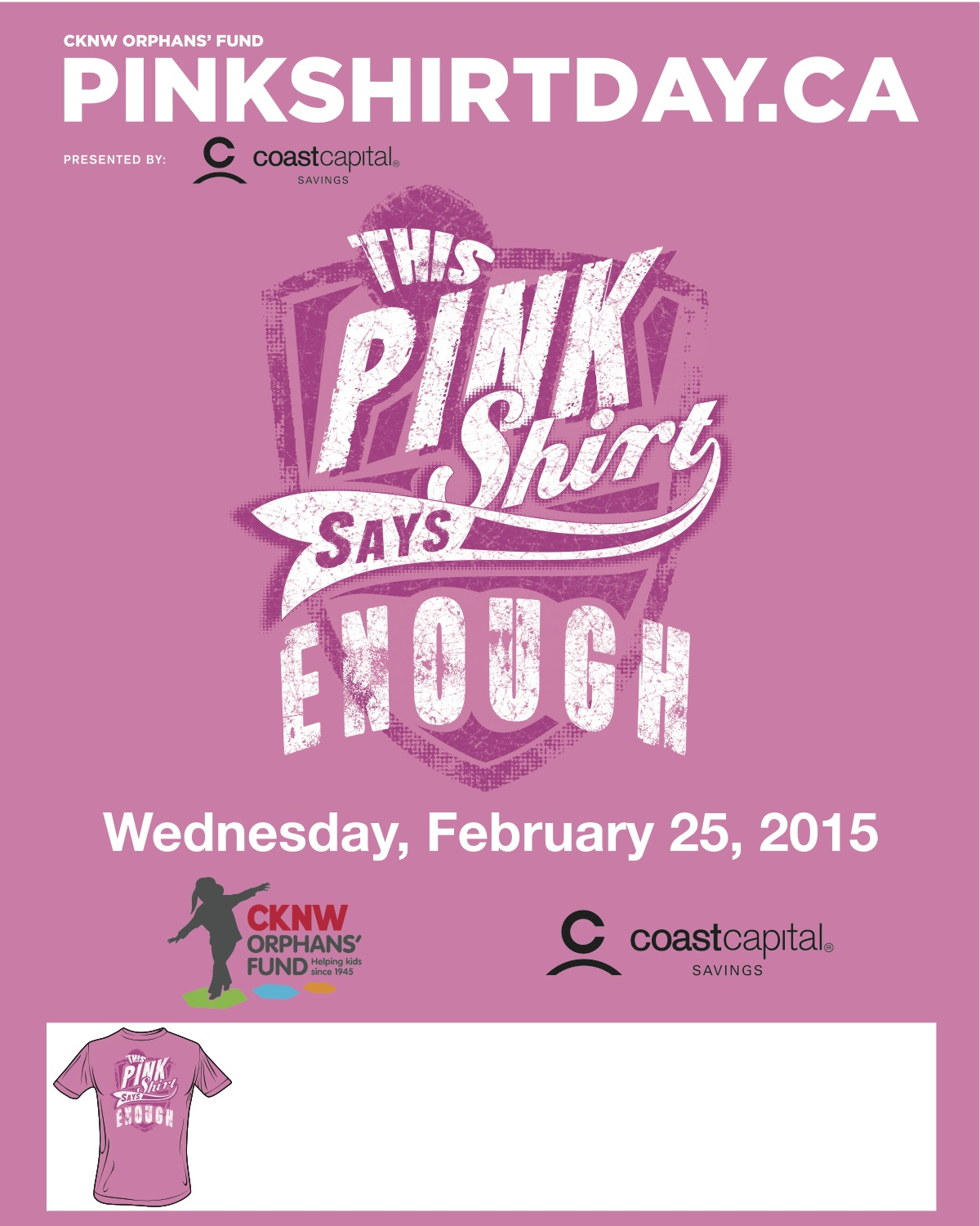 UFV Events - Pink Shirt Day