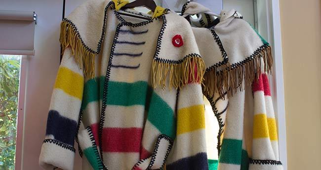 Fur trade coats
