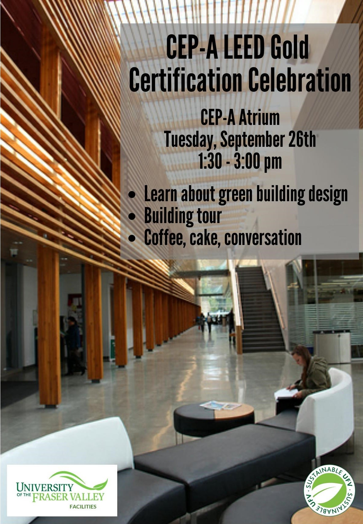Celebration Of Leed Gold Certification Of Cep A Ufv Events