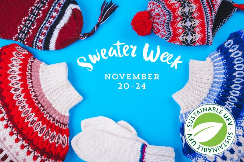 Sweater Week 2017 Ufv Events