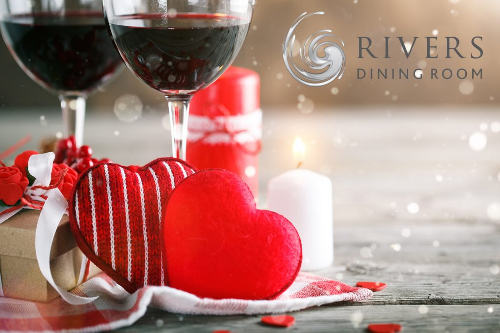 Celebrate Valentine's Day with fine dining at Rivers