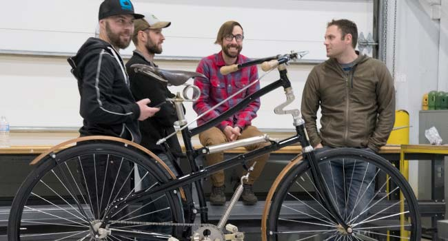 Bicycle Frame Building Open House