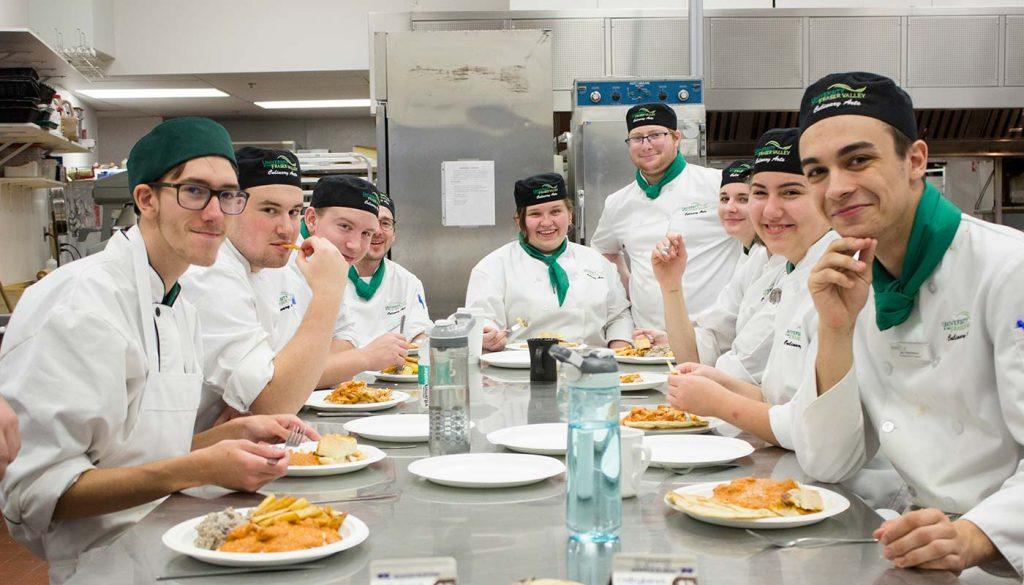 UFV Culinary Arts students